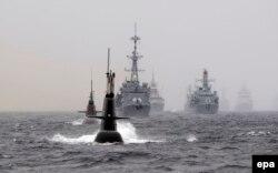 Навчання НАТО біля берегів Норвегії. Травень 2015 року