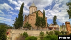 Georgia - Holy Echmiadzin Armenian church in Tbilisi, Undated