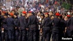 Pamje nga protestat në Jordani, foto nga arkivi.