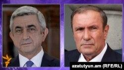 Serzh Sarkisian və Levon Ter-Petrossian