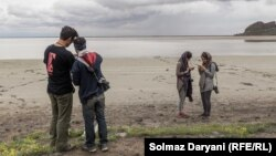 دریاچه ارومیه در سال آبی ۹۶-۹۵ نسبت به یک سال قبل، ۳۸ درصد کمبارشی را تجربه کرده است.