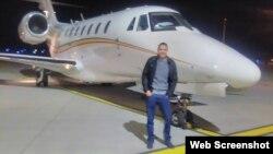 Гатис Лужа, пассажир самолета Cessna 750, на котором пытались вывезти кокаин из Аргентины