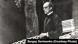 """Вацлав Дворжецкий в спектакле """"Бесприданница"""", 1938 год"""