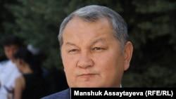Проректор Казахской академии спорта и туризма Мухтар Ескалиев. Алматы, 13 августа 2018 года.