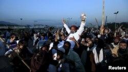 Під час акції протесту в Ісламабаді, 30 березня 2016 року