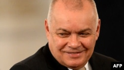 Despite the Twitter ridicule, Dmitry Kiselyov remains one of Russia's most popular pundits.