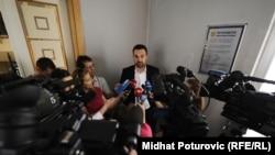 """Elmedin Konaković (na fotografiji) zahtijevao da se iz redova SDA """"prepoznaju i odstrane pojedinci"""""""