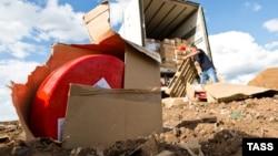 Уничтожение сыра под Оренбургом, 6 августа 2015 года