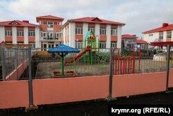 Дитячий садок у Заозерному від Євпаторією
