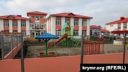 детский сад в Заозерном за Евпаторией