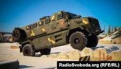 Бронеавтомобіль виробництва українського приватного заводу «АвтоКрАЗ»