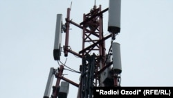 Антенны операторов мобильной связи с Таджикистане. Иллюстративное фото.
