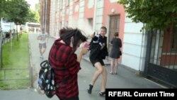 Від нападу на мітинг постраждали його учасники та журналісти