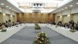 قادة سياسيون عراقيون في إجتماع بأربيل 8/11/2010