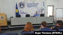 Agron Borovci, zëdhënës i Policisë së Kosovës