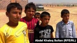 أطفال غجر في دهوك