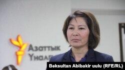 Чынара Касманбетова.