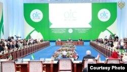 Саммит Организации исламского сотрудничества (ОИС) по науке и технологиям в Астане, 10 сентября 2017 года.