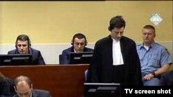Suđenje Ramušu Haradinaju, Balaj i Brahimaj iza svojih branitelja, ICTY, 23. veljače 2011.