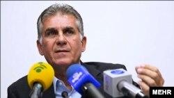 کارلوس کیروش، سرمربی تیم ملی فوتبال ایران