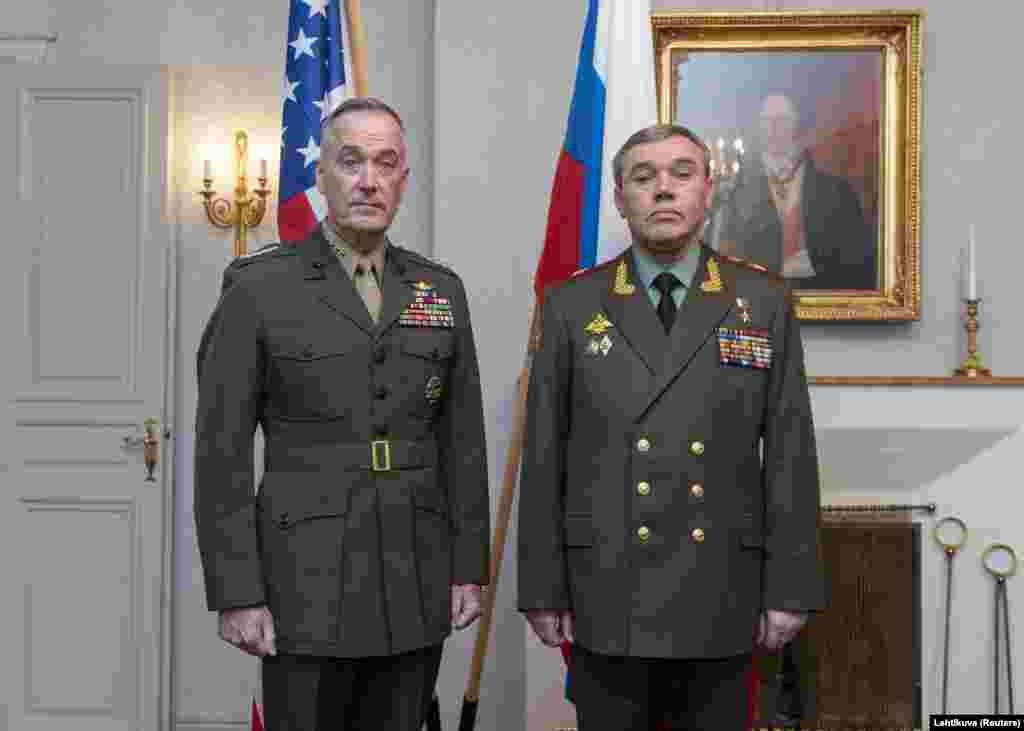 РУСИЈА - Американски и руски генерали се сретнаа во Виена и разговараа за ситуацијата во Сирија, каде двете земји заедно со Иран и Турција се воено присутни.