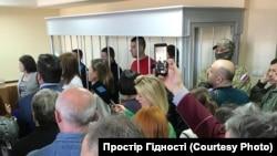 Украинские военнопленные в суде Москвы