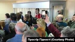 Українська діаспора підтримує військовополонених моряків у суді в Москві