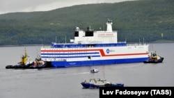 The Akademik Lomonosov began its 5,000-kilometer voyage to the Arctic on August 23.