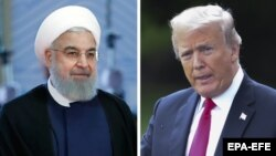 ԱՄՆ նախագահ Դոնալդ Թրամփ, Իրանի նախագահ Հասան Ռոհանի