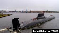 Submarinul nuclear Akula, purtător de rachete balistice