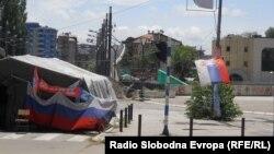 Barikade u Mitrovici, foto: Jasmina Šćekić