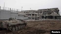 Руїни Донецького аеропорту. Березень 2015 року