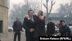 Milorad Dodik i Tomislav Nikolić u Banjaluci, 26. decembar 2012.