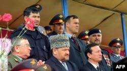 Ахмат Кадыров перед взрывом