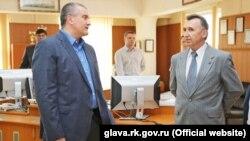 Сергей Аксенов и Виктор Плакида