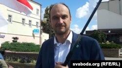 Дзьмітры Кучук, кандыдат ад Беларускай партыі «Зялёных»