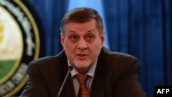 UN envoy to Afghanistan Jan Kubis urged Afghans to vote.