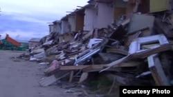 В Новом Уренгое сносят ветхое и аварийное жилье