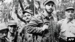 Кубадагы партизандык согуш учурунда тартылган сүрөт. 1957-жыл.