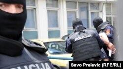 Crnogorska policija, ilustracija