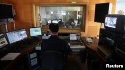 U godišnjem izveštaju organizacije Reporteri bez granica Srbija je pala za tri mesta na listi medijskih sloboda (fotografija iz jedne od medijskih kuća u Srbiji)