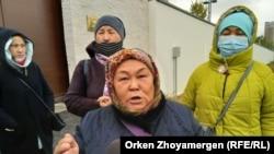 Нур-Солтанда Кытай илчелеге янында каршылык чарасында
