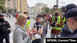 بازداشت خبرنگاران توسط پولیس روسیه