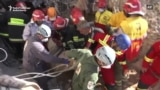 Iranian Rescuers Search For Earthquake Victims