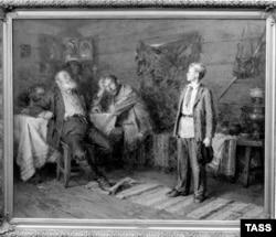 """Павлик Морозов"", картина Н. Н. Чебакова. ТАСС, 1952"