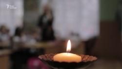 У львівській початковій школі вшанували пам'ять жертв Голодомору (відео)