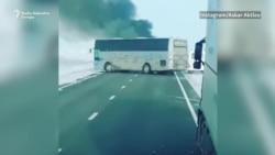Kazahstan: Od vatre u autobusu poginule 52 osobe