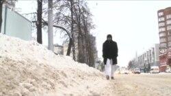 Уфа в снегу. Жители требуют отставки мэра (на башкирском языке)