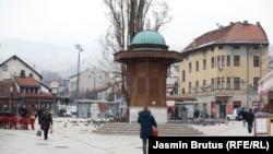 Poluprazne ulice Banje Luke i Sarajeva zbog korona mjera