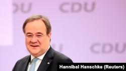 Армин Лашет избран председателем немецкой партии Христианско-демократический союз.